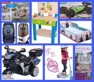 Baby Supply and Toy Auction - Denton, TX