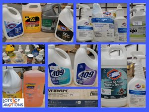 Chemical and Cleaning Supply Auction - Denton, TX