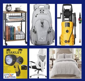 Kitchen, Home Goods, Electronics, Furniture, and More Auction - Denton, TX