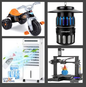 Baby, Kitchen, Home Goods, Electronics and More Auction - Denton, TX